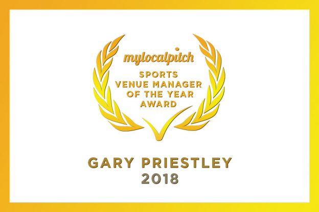 Gary Priestley crowned Playfinder's Sports Venue Manager of the Year