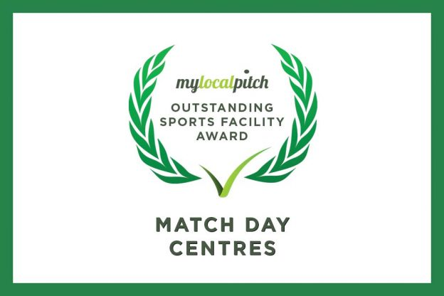 Match Day Centres celebrates March's Outstanding Sports Facility Award
