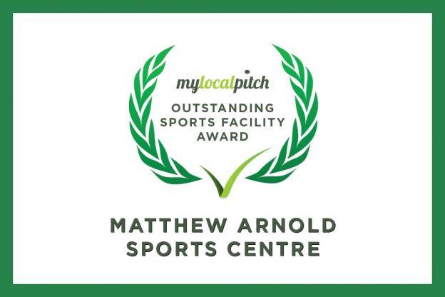 Matthew Arnold Sports Centre celebrates April's Outstanding Sports Facility Award