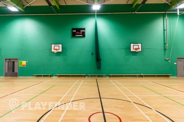 East Manchester Academy's Netball Courts
